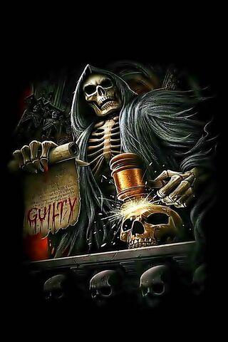 Skull 3D Guilty