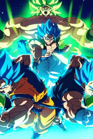 Broly Wallpaper Download To Your Mobile From Phoneky