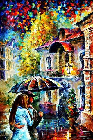 Rain Love Umbrella