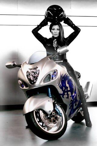 Bike Girl 4