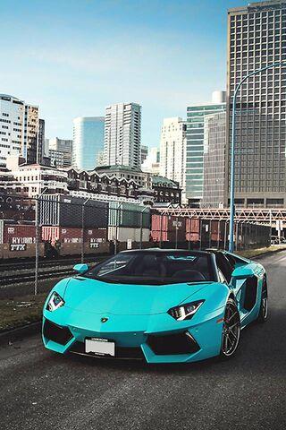 Lamborghini Blue