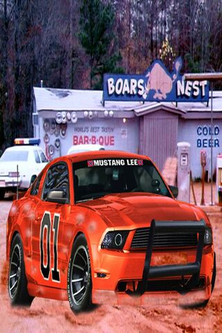 Mustang General Lee Wallpaper Download To Your Mobile From