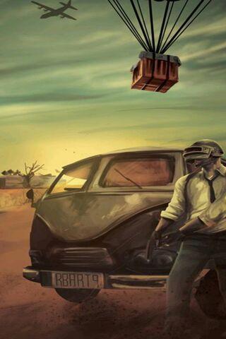 Pubg Mobile Man 4k