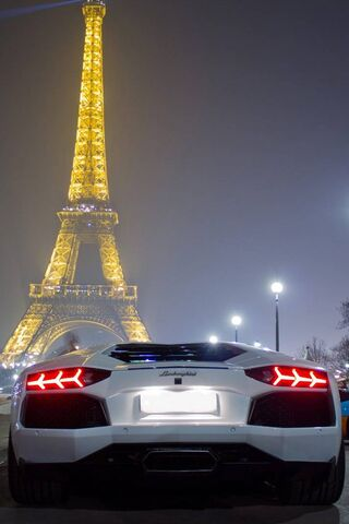 Lamborghini In Paris