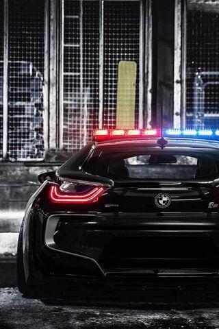 Bmw I8 Police Car