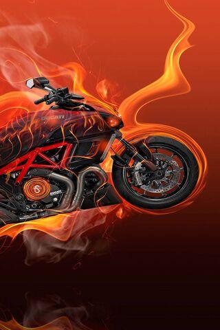 Ducati On Fire