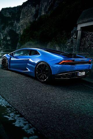 Sport Blue Car