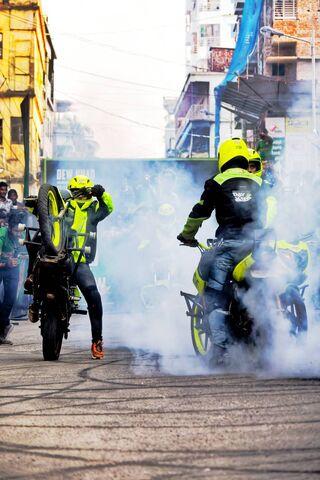Bike Stunt Burnout