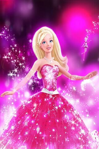 Barbie long lanh