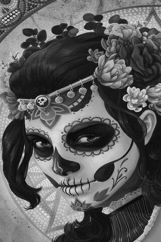 Sugar Skull Paint