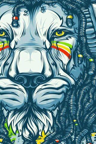 Lion Bob Marley