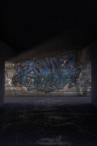 बेसमेंट ग्राफिटी