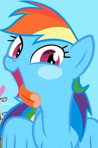 Rainbow Dash Lick