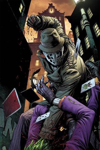 Rorschach, Joker'i Vurdu
