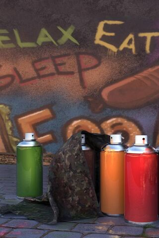 Sprays de graffiti