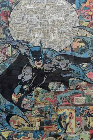 Batman Flying Comic