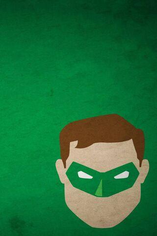 Зеленый Latern Логотип