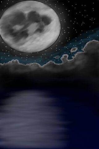 सागर और चंद्रमा
