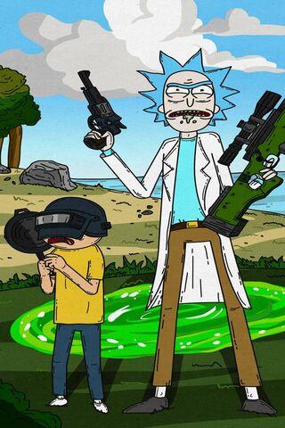 Rick et Morty Pubg