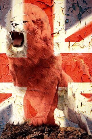 الاسد البريطاني