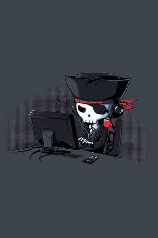 Skeleton Gamer