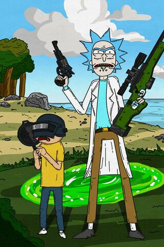 Rick dan Morty Pubg