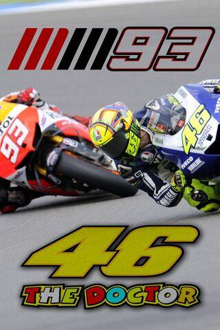 Rossi dan Marquez