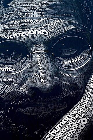 Steve Jobs Word Arts