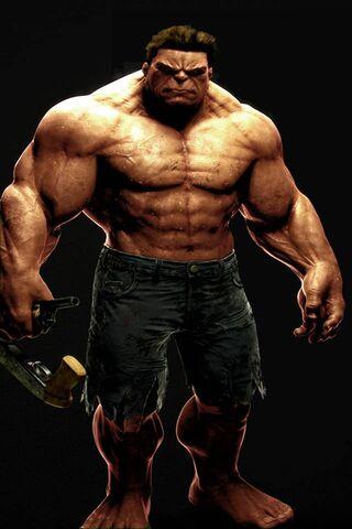 Hulk Caucasien