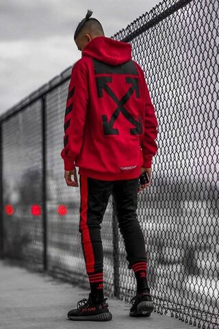 Off White Swag Red