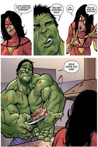 Hulk Vs Superwoman