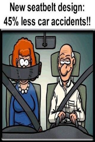 New Seatbelt Design