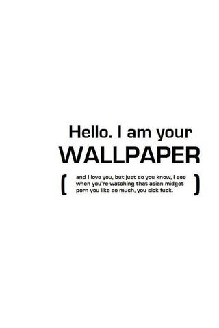 Am Your Wallpaper