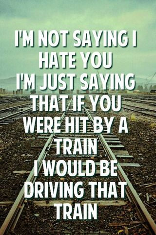 Tôi ghét bạn