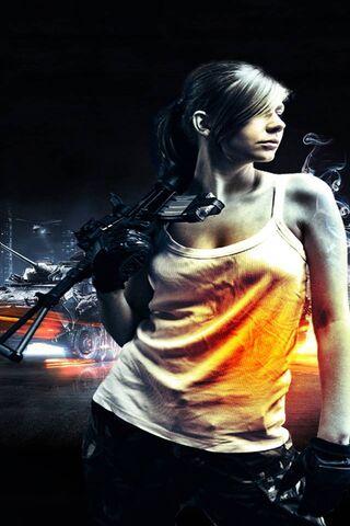 Dziewczyna z Battlefield