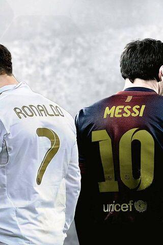 Ronaldo e Messi