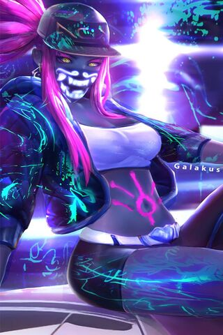 Kda Akali Wallpaper Download To Your Mobile From Phoneky