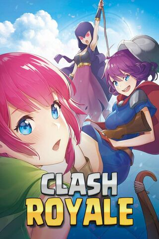 Clash Royale Anime