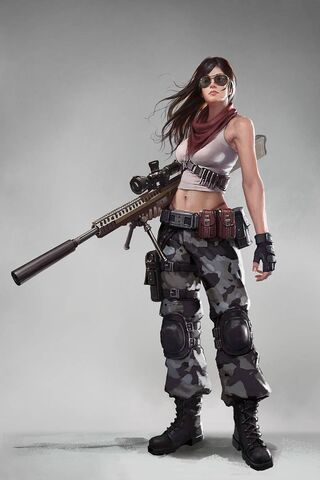 Phoneky Pubg Girl Hd Wallpapers