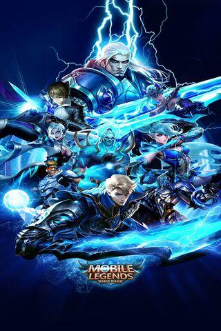 Blue Mobile Legends