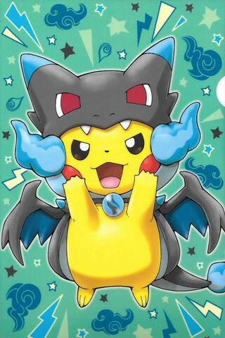 Pikachu Charizard