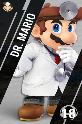 Ssbu Dr Mario Wallpaper - Download to
