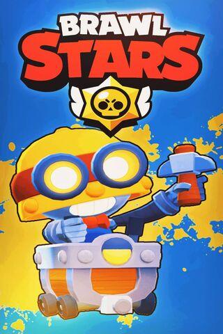 Carl - Brawl Stars