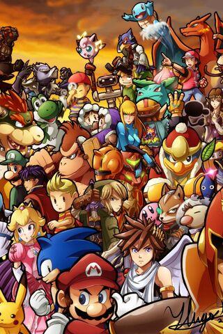 Super Smash Bros Wii