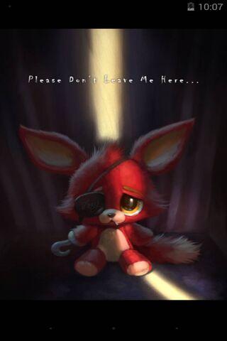 Sad Foxy Plush