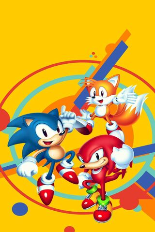 Sonic Mania Wallpaper Download To Your Mobile From Phoneky