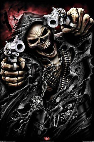 Skelebone menakutkan
