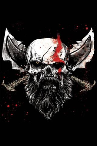 God Of War Skull