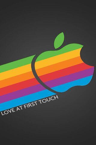 Retro Apple Love