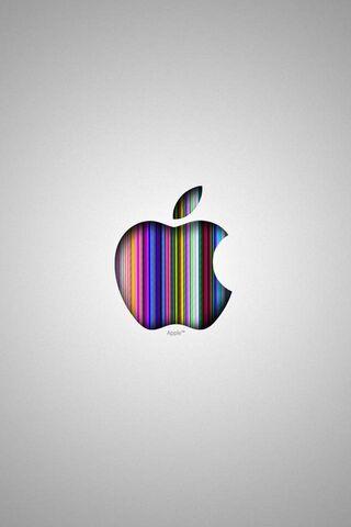 Apple Logo Silver Hd